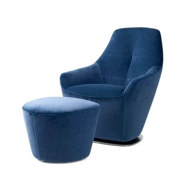 Leolux Cantate Fabric Blue 0001